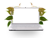 Concept of green technology. Concept of green modern technology Royalty Free Stock Images