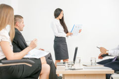 Concept of group business people at meeting in the office Stock Images