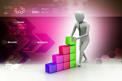 Concept growth of the business Stock Image