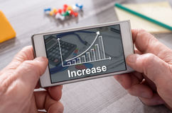 Concept of growth Royalty Free Stock Image