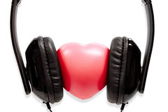 The concept headphones with heart