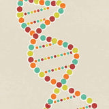 Concept of health and medical with DNA. Royalty Free Stock Image