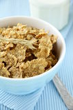 The concept of a healthy breakfast of muesli Stock Image