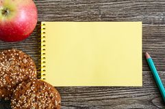 The concept of healthy eating Royalty Free Stock Images