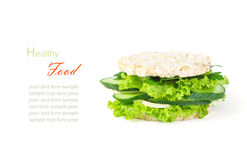 The concept of a healthy food, diet, losing weight, vegeterian. Royalty Free Stock Image