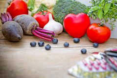 Concept of healthy food Royalty Free Stock Images