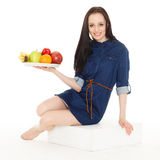 Concept of healthy food. Stock Photos