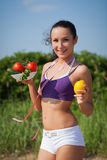 Concept of healthy lifestyle. Stock Photos