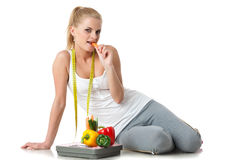 Concept of healthy lifestyle. Royalty Free Stock Photography