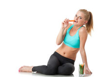 Concept of healthy lifestyle. Royalty Free Stock Images