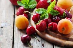 Concept of healthy vegan dessert Stock Image