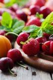 Concept of healthy vegan dessert Royalty Free Stock Photo