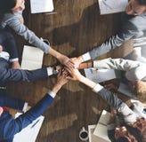 Concept het bedrijfs van Team Support Join Hands Support Royalty-vrije Stock Fotografie