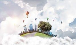 Concept het eco vriendschappelijke leven Royalty-vrije Stock Afbeelding