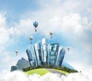 Concept het eco vriendschappelijke leven Royalty-vrije Stock Foto's