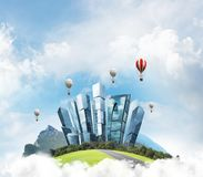 Concept het eco vriendschappelijke leven Royalty-vrije Stock Foto