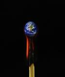 Concept het globale verwarmen royalty-vrije stock afbeelding