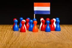 Concept het koninkrijk van Nederland Stock Afbeeldingen