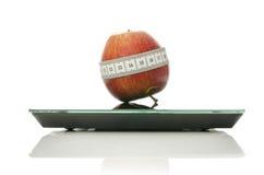 Concept het op dieet zijn en het gezonde eten Stock Afbeelding