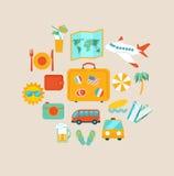 Concept het reizen Stock Foto