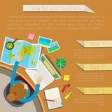 Concept het werkplaats Royalty-vrije Stock Afbeelding