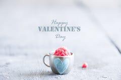 Concept heureux de jour de valentines Photo libre de droits