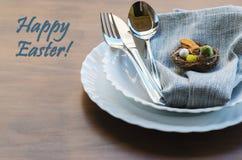 Concept heureux de Pâques Photographie stock libre de droits