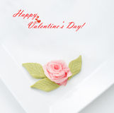 Concept heureux de Saint-Valentin Photos libres de droits