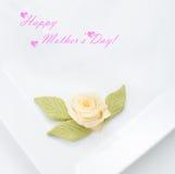 Concept heureux du jour de mère Image libre de droits