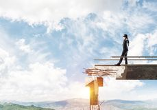 Concept of hidden risks and dangers. Stock Photography