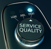 Concept of high service quality Royalty Free Stock Photos