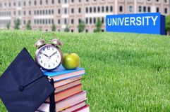 Concept of higher education Stock Images