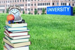Concept of higher education Royalty Free Stock Image