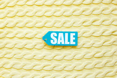 Concept holiday sales of clothes and textiles top view Stock Photo