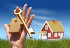 Concept of home ownership stock images
