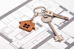 Concept of home  ownership. Real estate and property. Concept of home  ownership Stock Photos