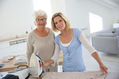 Concept of homecare Stock Images