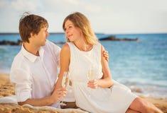 Concept, homme et femme de lune de miel dans l'amour Photos libres de droits