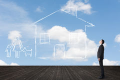 Concept of house Stock Image