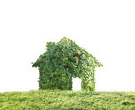 Concept by house on nature Stock Photos