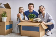 Concept of housing for family Stock Photo