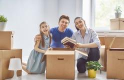 Concept huisvesting voor familie stock afbeelding