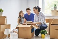 Concept huisvesting voor familie stock foto