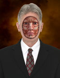 Concept humain de carte de muscle d'homme Photos stock
