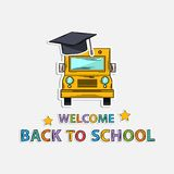 Concept Icon back to school Stock Photo