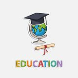 Concept Icon education Royalty Free Stock Image