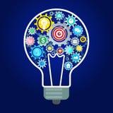 Concept of idea. royalty free illustration