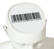 Concept identiteit stock illustratie