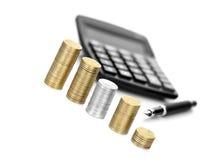 Concept II de finances photos stock