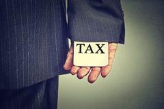 Concept illégal de plan de ponzi d'économie de fraude fiscale d'activité criminelle de corruption Images stock
